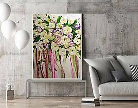 Obrazy - Kvety z dúhy - 11603671_