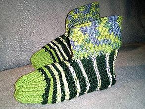 Obuv - Členkové papuče pánske, veľkosť 39-41 - 11604322_