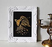 Kresby - Tanec zlatého dažďa - 11602126_