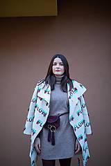 Kabáty - KABÁT FLOW SMOTANOVÝ - 11602424_