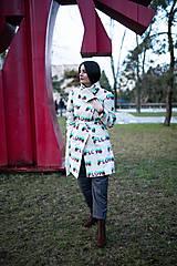 Kabáty - KABÁT FLOW SMOTANOVÝ - 11602428_