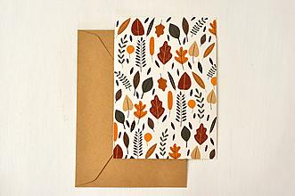 Papiernictvo - Pohľadnica - listy - 11603233_