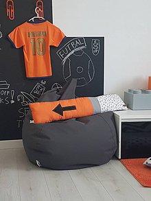 Úžitkový textil - Kolekcia Teenager/podlhovastý vankúš - 11606431_