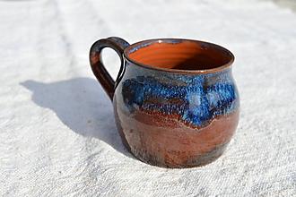 Nádoby - Šálka modrá č.6 - 11606406_