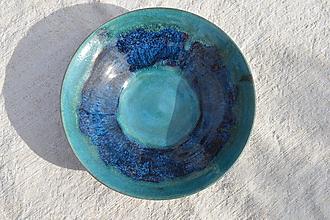 Nádoby - Miska modrá č.2 - 11607432_