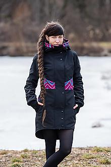 Kabáty - Kabát ROSA Zick-Zack - 11609337_
