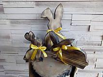 Dekorácie - zajac - zajačia rodinka - 11606177_
