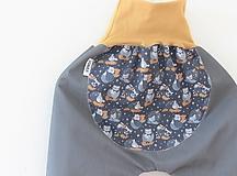 """Detské oblečenie - Softshellky jarné """"dobrú noc zvieratká"""" - 11606032_"""