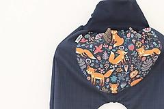 """Detské oblečenie - Softshellky jarné """"líštička na lúke"""" - 11607411_"""