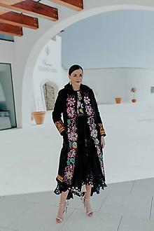 Kabáty - dlhý kabát Poľana - 11607370_