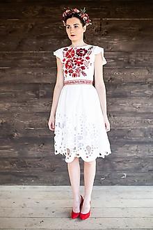 Šaty - madeirové šaty Poľana - 11608634_
