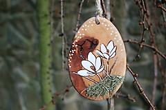 """Dekorácie - veľkonočná dekorácia na zavesenie """"krokus"""" - 11608106_"""
