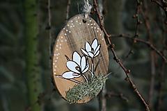 """Dekorácie - veľkonočná dekorácia na zavesenie """"krokus"""" - 11608107_"""