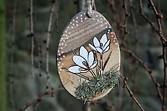 """Dekorácie - veľkonočná dekorácia na zavesenie """"krokus"""" - 11608112_"""