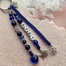 Kľúčenky - Prívesok na kľúče podľa znamenia zverokruhu (Ryby) - 11608423_