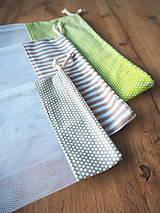 Úžitkový textil - Sada vreciek na potraviny - 11608306_