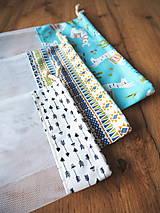 Úžitkový textil - Sada vreciek na potraviny - 11608311_