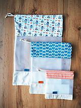 Úžitkový textil - Sada vreciek na potraviny - 11608317_