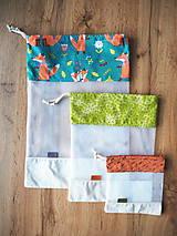 Úžitkový textil - Sada vreciek na potraviny - 11608325_
