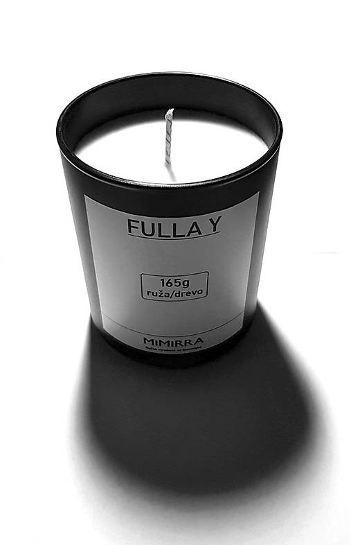 FULLA Y - Sójová sviečka