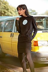 Šaty - FNDLK úpletové šaty 463 RuVdL - 11610442_