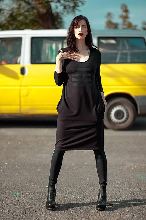 Šaty - FNDLK úpletové šaty 462 RVKh - 11610387_