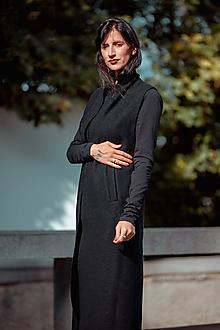 Iné oblečenie - FNDLK vlněná dlouhá vesta 05 KVbrKm - 11610506_