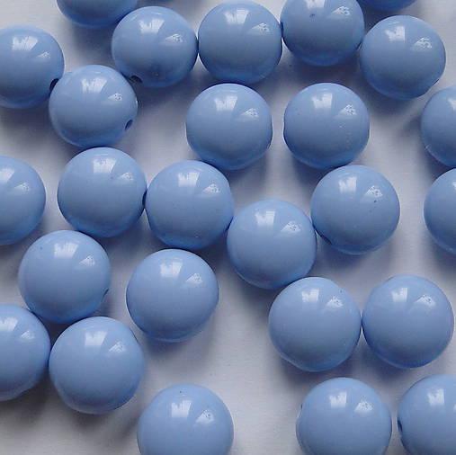 "Korálky COLOR plast ""lentilky"" 12mm (modrá-1ks)"