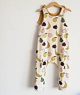 Detské oblečenie - Overal Vitamíny - 11610605_