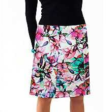 Sukne - Sukně magnolie - 11611301_