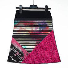 Sukne - Sukně mix barevná - 11611403_