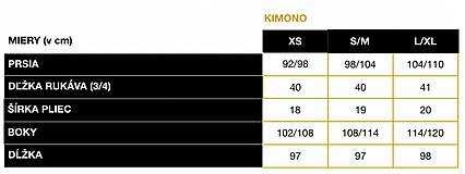 Kabáty - KIMONO STRAWBERRY - 11609742_