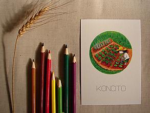 Papiernictvo - pohľadnica: z á h r a d n í k - 11612964_