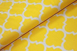 Textil - Látka - Maroko žlté ( 100% bavlna ) - 11614902_