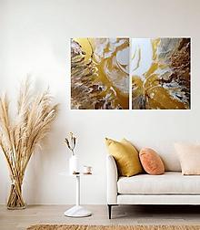 Obrazy - Zlatá zem - 11614866_