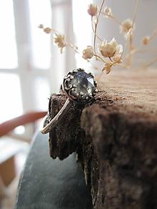 Prstene - Mini labradoritový - 11613754_