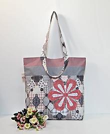 Veľké tašky - Väčšia nákupná taška s dvojitými rúčkami - 11614242_