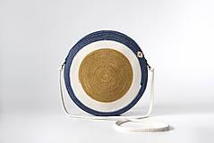 Kabelky - Kabelka kulatá khaki - 11617109_