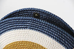 Kabelky - Kabelka kulatá khaki - 11617110_
