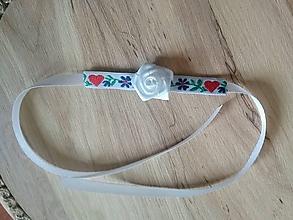 Pierka - folklórne náramky pre malé družičky - 11616191_