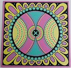 Obrazy - Mandala Bezstarostnosti - 11617233_