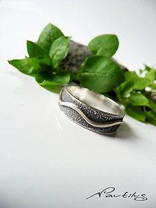 Prstene - Strieborná obrúčka Ag925 s ornamentom IV. - 11615655_