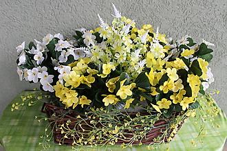 Košíky - jarná dekorácia_spring decoration - 11617290_