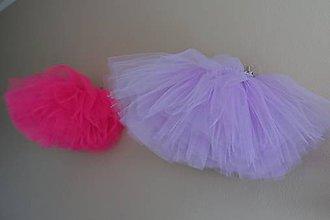 Detské oblečenie - Nadýchané tylové tutu sukničky - 11616479_