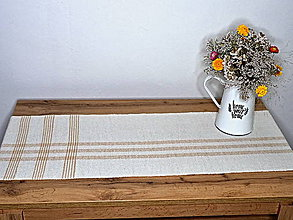 Úžitkový textil - RUČNĚ TKANÝ - OBRUS - PRESTIERANIE 1 - 11617016_
