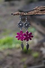 Fuchsiový kvet