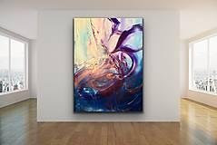 Obrazy - Leda•Underwater dancer serie - 11616018_