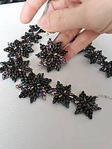 Sady šperkov - SADA Zelené hviezdy - 11617009_