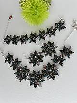 Sady šperkov - SADA Zelené hviezdy - 11617014_