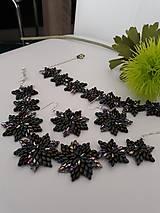 Sady šperkov - SADA Zelené hviezdy - 11617015_